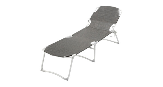Brunner Kerry Duna Grand Camping lounger countour carbon grijs